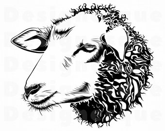 Sheep vector   Etsy