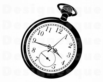3dc72bc28 Pocket Watch #2 SVG, Pocket Watch Svg, Watch Svg, Pocket Watch Clipart, Pocket  Watch Files for Cricut, Cut Files For Silhouette, Dxf Png Eps