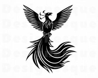 Phoenix Clipart Etsy