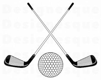 Putter Logo Svg Golf Svg Golf Club Svg Golf Clipart Golf Etsy