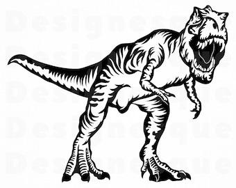 Dinosaur Svg Etsy