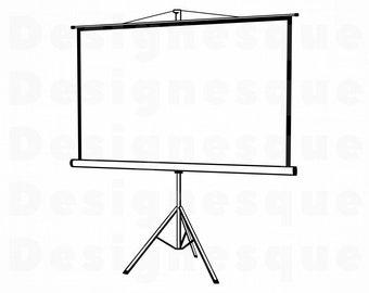 Projector Screen Etsy