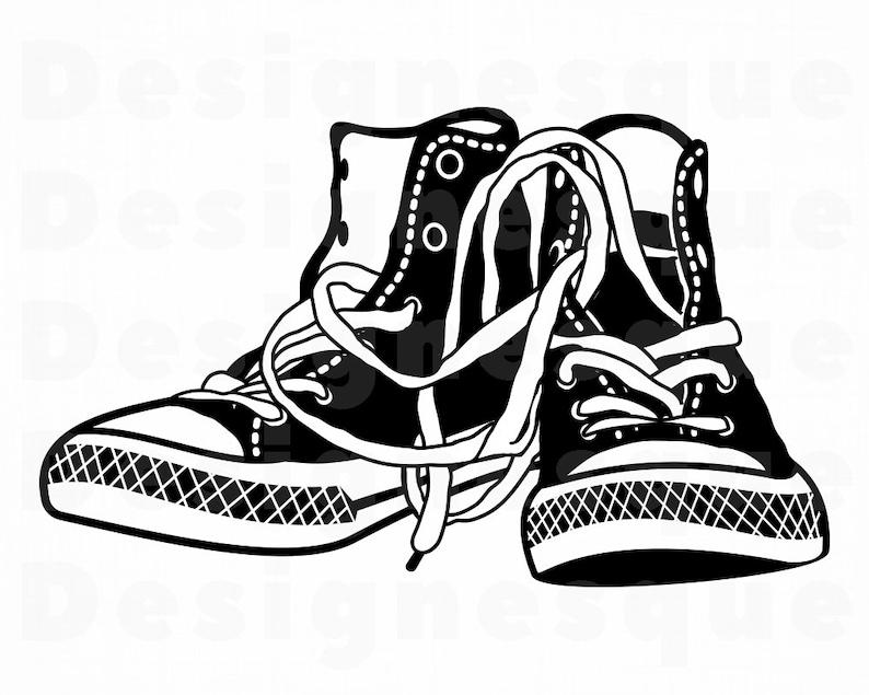 Turnschuhe Dateienetsy Sneakers Clipart Schuhe Svg Dxoecrbw qVSpLMGUz