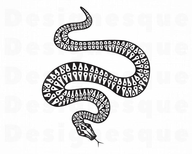 Snake Svg Serpent Svg Snake Clipart Snake Files For Cricut