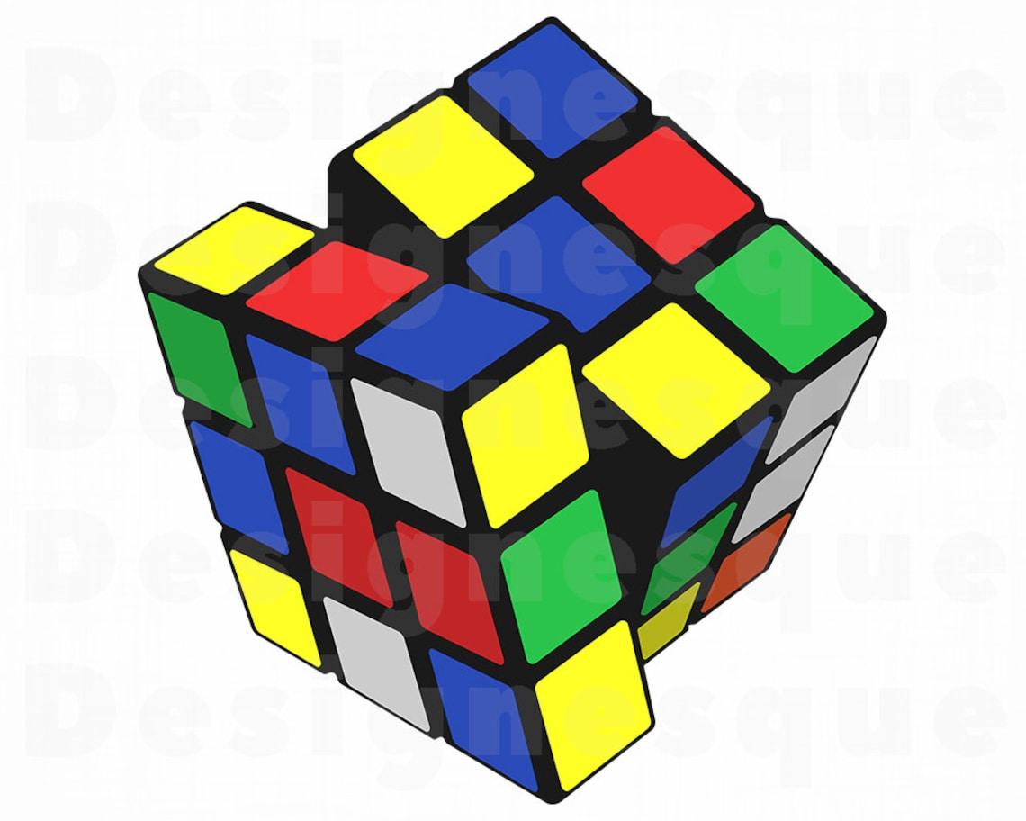 Rubik's Cube SVG Rubik's Cube Clipart Rubik's image 0
