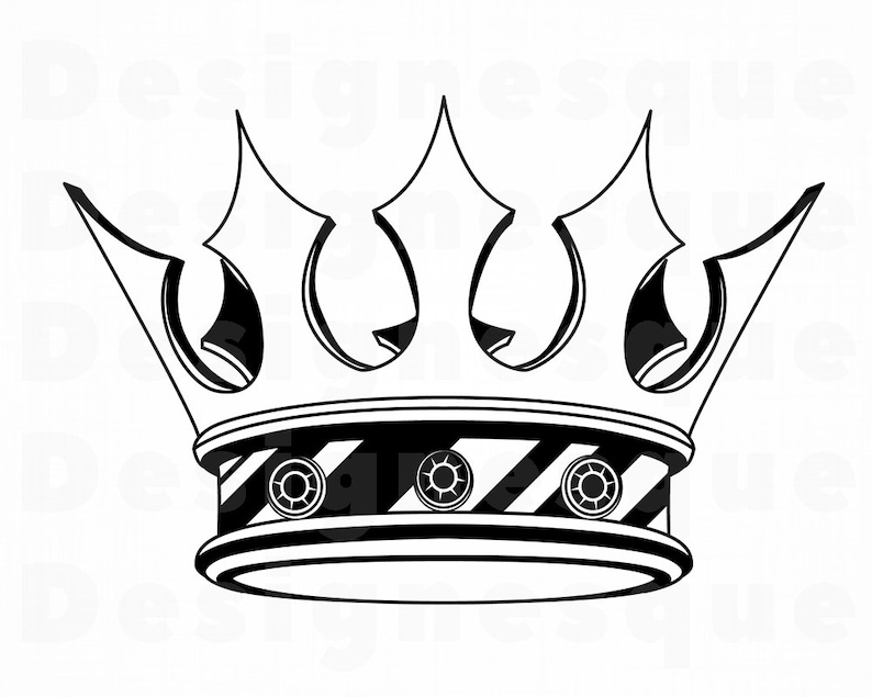 Crown 9 Svg Crown Svg King Svg Queen Svg Princess Svg