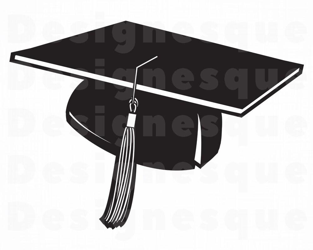 Graduation Cap #4 SVG, Graduation SVG, Graduation Cap Clipart, Graduation  Cap Files for Cricut, Cut Files For Silhouette, Dxf, Png, Eps,