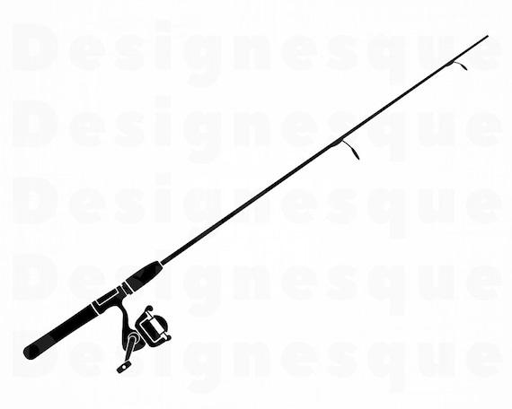 Download Fishing Rod 5 Svg Fishing Rod Svg Fishing Svg Fishing Etsy