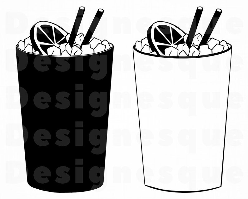 Cocktail SVG, Lemonade SVG, Drink SVG, Cocktail Clipart, Files for Cricut,  Cocktail Cut Files For Silhouette, Cocktail Dxf, Png, Eps, Vector