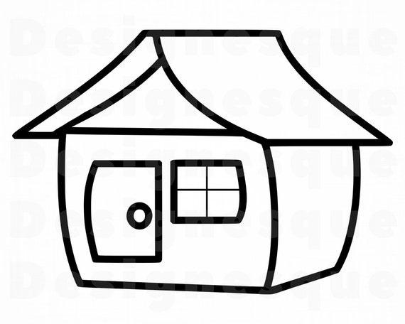 Haus Svg Haus Svg Immobilien Svg Haus Clipart Haus Dateien Etsy