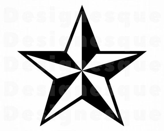 png Star vector Cut files Star Silhouette Digital clipart for Design Star svg Print or more dxf Instant files download svg