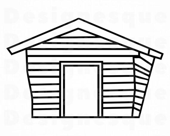 Shack 2 Svg Shack Svg House Svg Wood Cabin Svg Shack Etsy