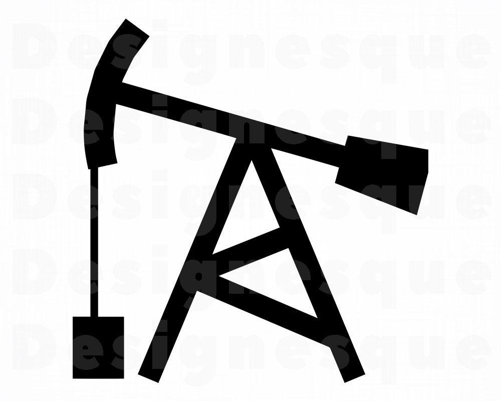 Oil Well SVG Petroleum SVG Oil SVG Oil Well Clipart Oil   Etsy  Oil Well SVG Pe...