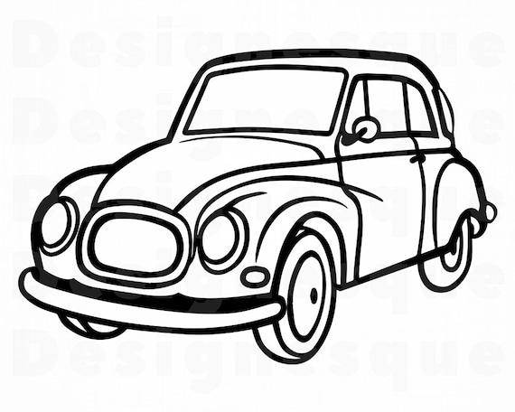 retro car svg vintage car svg retro car clipart retro car etsy Parking Lot Clip Art image
