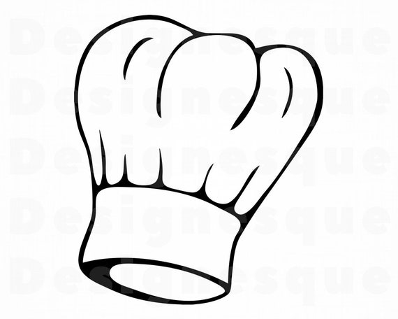 Chef Hat SVG 3 Chef Svg Cook Svg Chef Hat Clipart Chef  d1a32bc99f2e