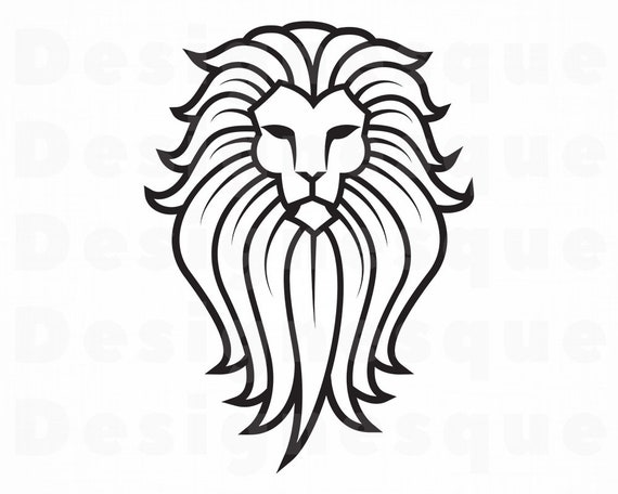 Lion 4 Svg Lion Svg Lion Clipart Lion Files For Cricut Etsy