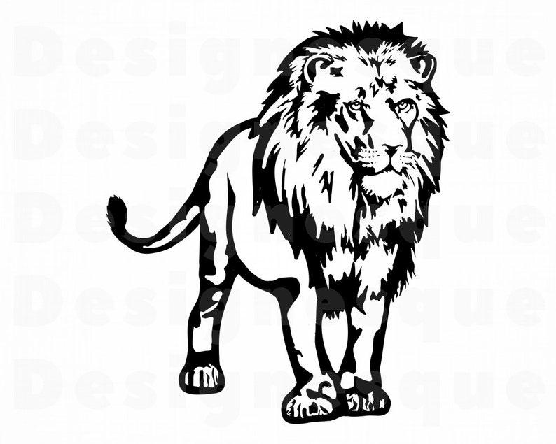 Download Lion 9 SVG Lion Svg Lion Clipart Lion Files for Cricut | Etsy