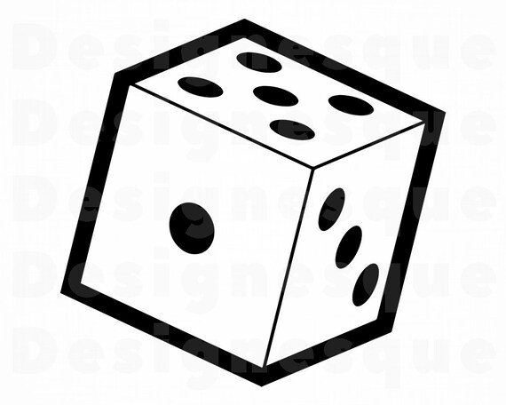 Dice SVG Rolling Dice Svg Dice Clipart Dice Files for | Etsy