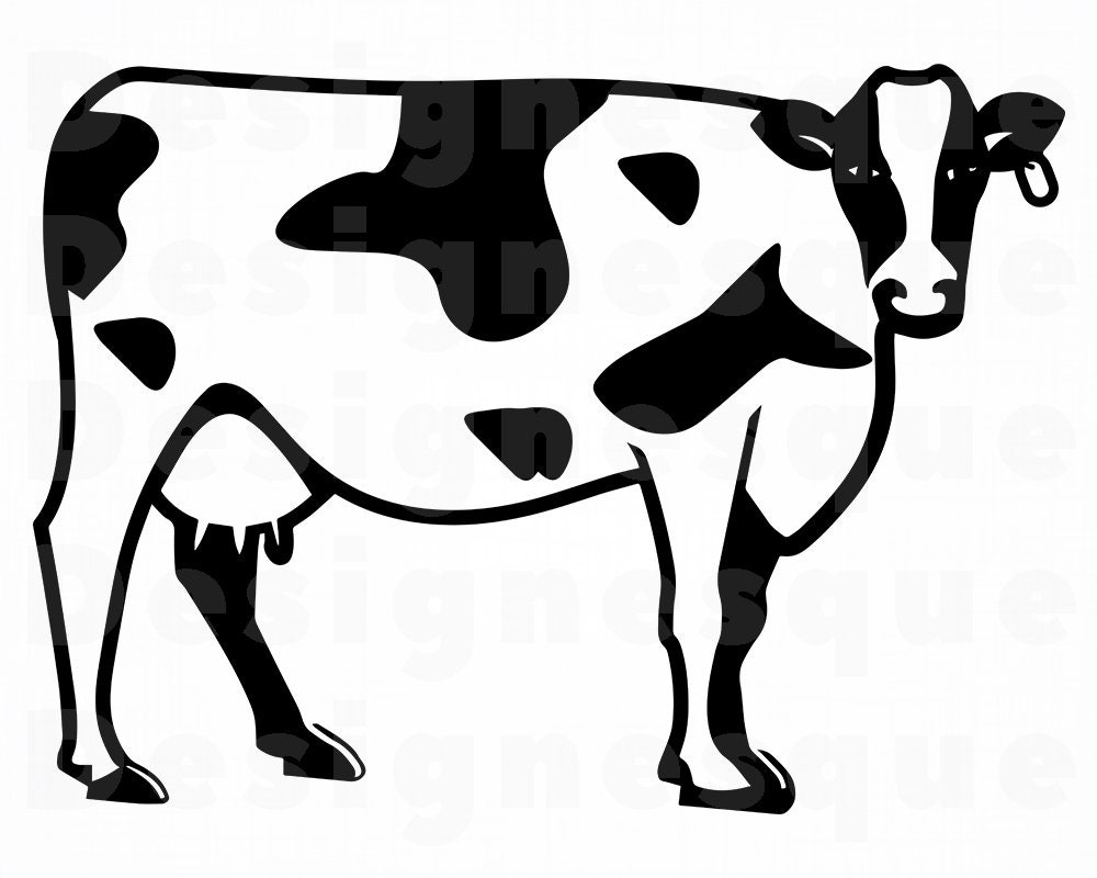 Download Cow 3 SVG Cow SVG Cattle Svg Cow Clipart Cow Files for | Etsy