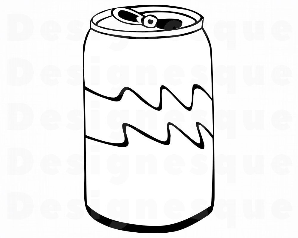 Soda Can SVG Soda Can Clipart Soda Can Files for Cricut | Etsy