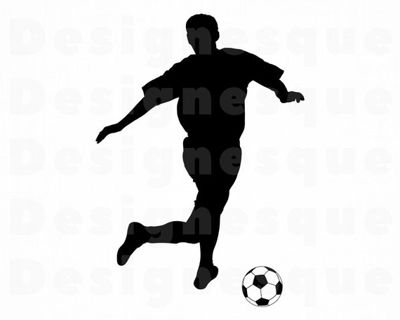 Fussball Spieler Svg Svg Fussball Spieler Clipart Fussball Fussballspieler Dateien Fur Cricut Fussballspieler Schneiden Dateien Fur Silhouette Dxf