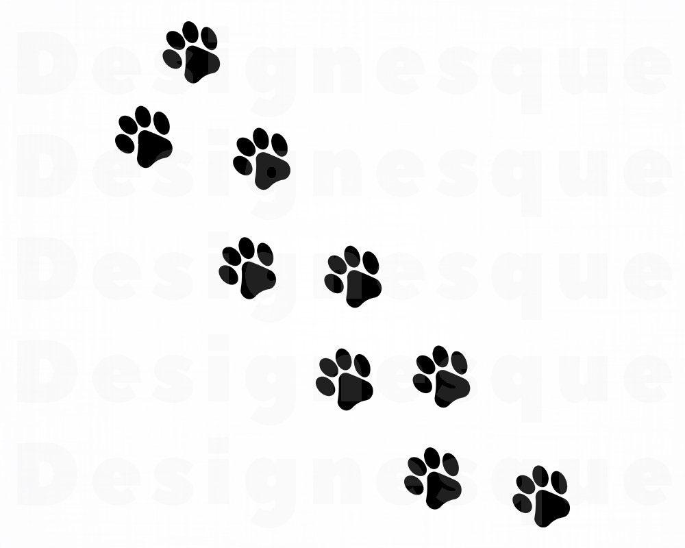 Download Paw Prints SVG 3 Paw SVG Dog Svg Cat Svg Paw Print   Etsy