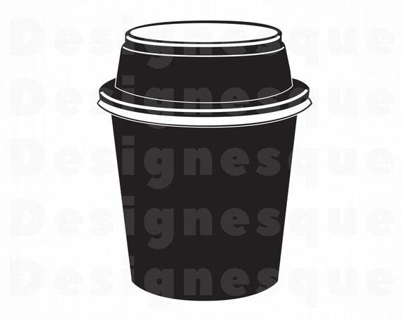 Yogurt cup black and white coloring page - Stock Illustration [53906497] -  PIXTA