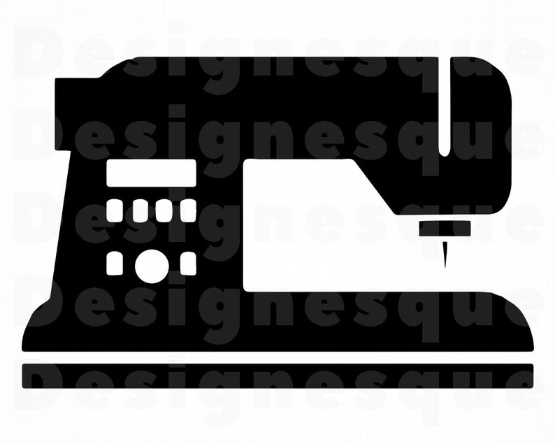 Sewing Machine SVG, Quilting Svg, Embroidery Svg, Sewing Clipart, Sewing  Files for Cricut, Sewing Cut Files For Silhouette, Dxf, Png, Vector