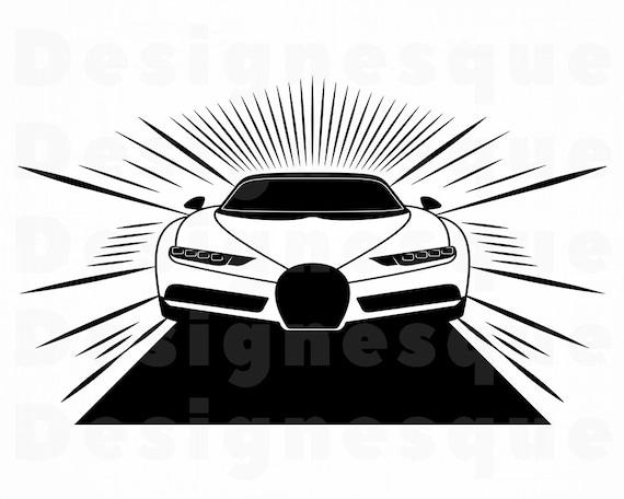 Sports Car Vinyl SPORTS CAR SVG Fast Car Png File Sports Car Clipart Race Car Svg Instant Download Car Png Cricut Car Svg