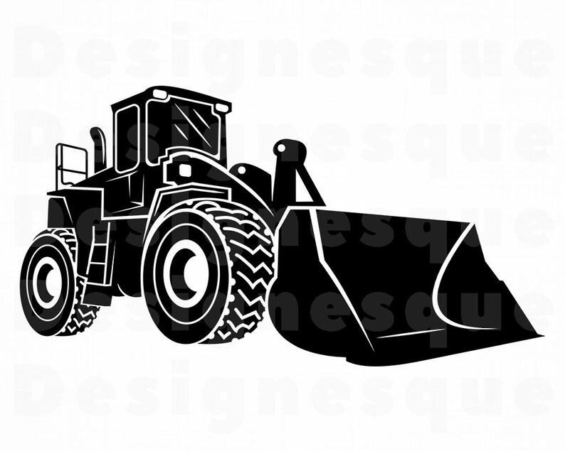 best service 3de57 0ac16 Bulldozer #4 SVG, Heavy Equipment, Bulldozer Clipart, Bulldozer Files for  Cricut, Bulldozer Cut Files For Silhouette, Dxf, Png, Eps, Vector