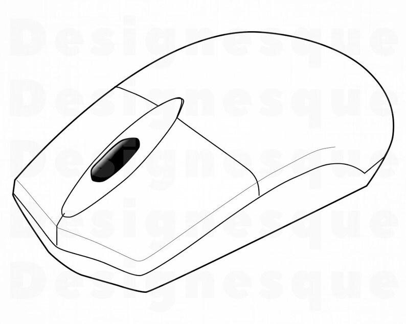 Computer Mouse Svg Computer Mouse Clipart Computer Mouse