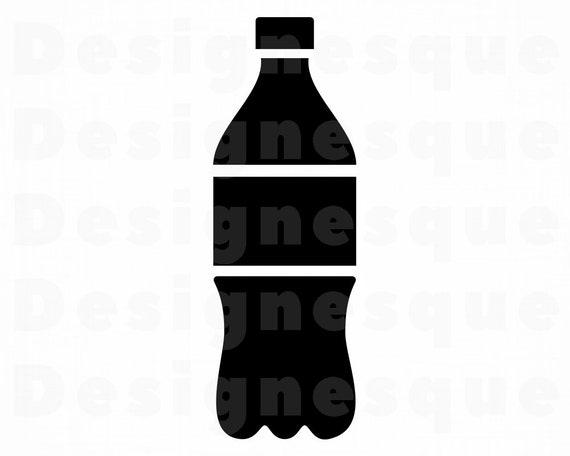 Soda Bottle Svg Soda Svg Soda Bottle Clipart Soda Bottle Etsy