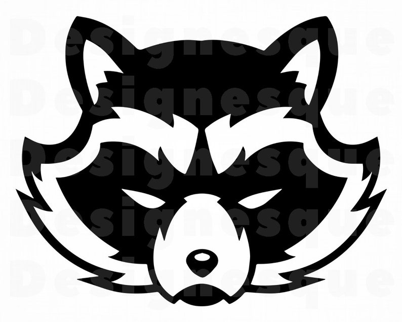 Raccoon Svg Raccoon Clipart Raccoon Files For Cricut
