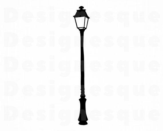 Light for SVGLamp Lamp Lamp ClipartLamp CricutCut SVGStreet For SilhouetteDxfPngEpsVector SVGStreet Files Files Street dxCBeo