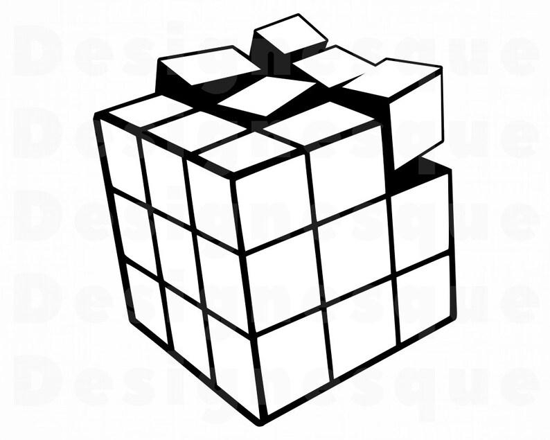 Rubiks Cube Outline Svg Rubiks Cube Svg
