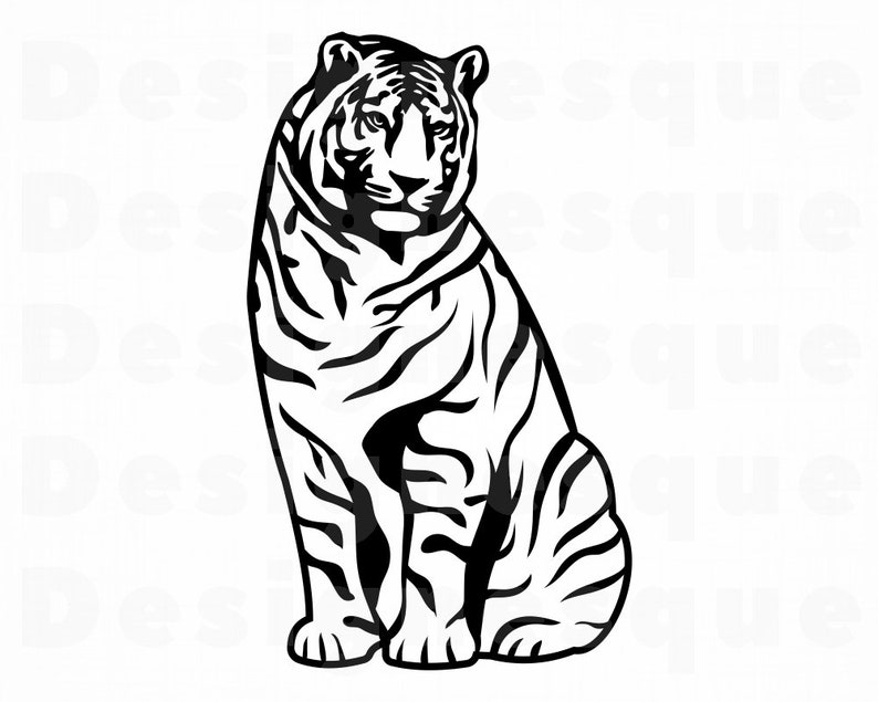 Tiger 13 Svg Tiger Svg Tiger Clipart Tiger Files For