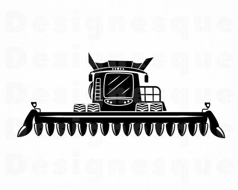 Corn Head #3 SVG, Corn Header Svg, Combine Harvester SVG, Combine Svg, Corn  Head Clipart, Files for Cricut, Cut Files For Silhouette Dxf Png