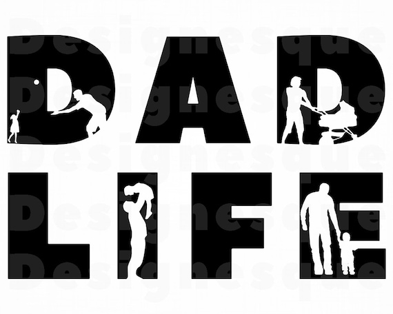 Dad Svg Dad Life Svg Father S Day Svg New Dad Svg Dad Etsy