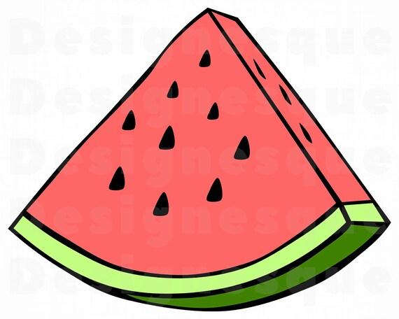 Watermelon Slice Svg Watermelon Svg Watermelon Slice Etsy