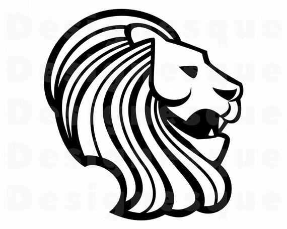 Lion 16 Svg Lion Svg Lion Clipart Lion Files For Cricut Etsy