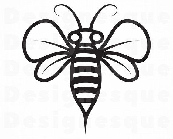 Bee 9 Svg Bee Svg Queen Bee Svg Honey Svg Bee Clipart