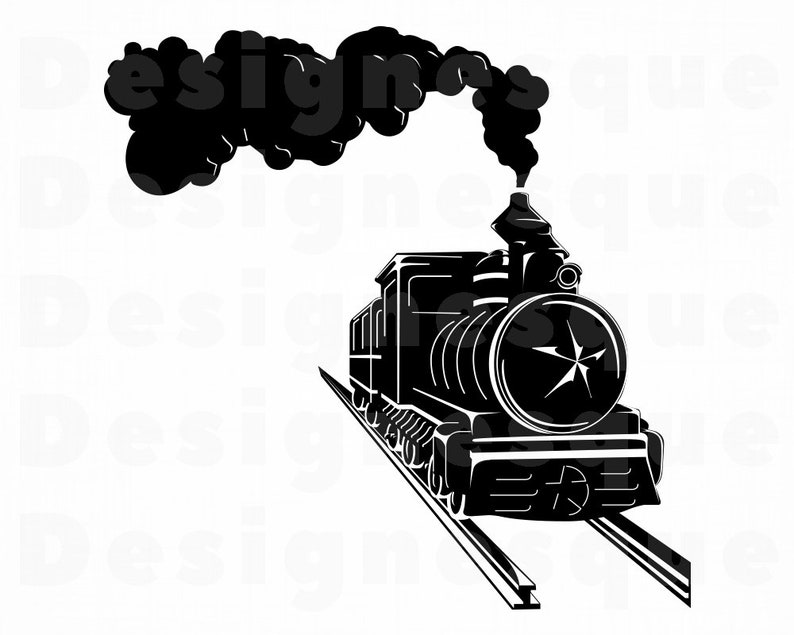 c2d38eb643 Treno 12 SVG Svg motore a vapore locomotiva del treno | Etsy