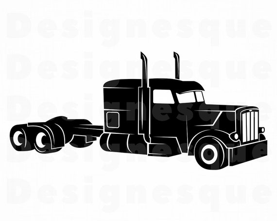 Truck Driver 6 SVG Truck SVG 18 Wheeler Trucker Truck | Etsy
