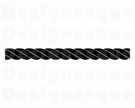 Rope 4 Svg Rope Svg Nautical Svg Rope Clipart Rope Files Etsy