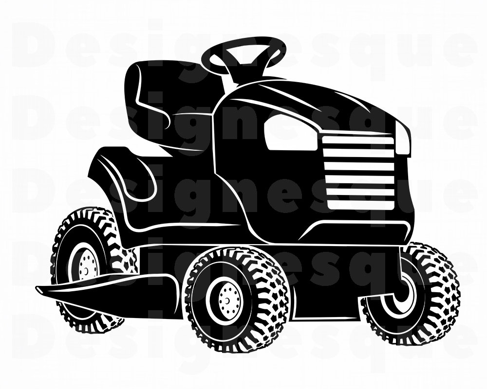 Lawn Mower Tractor Svg Lawn Mower Svg Landscaping Svg Lawn