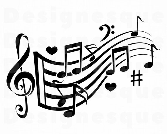 Music Logo 7 Svg Musical Note Svg Music Note Svg Musical
