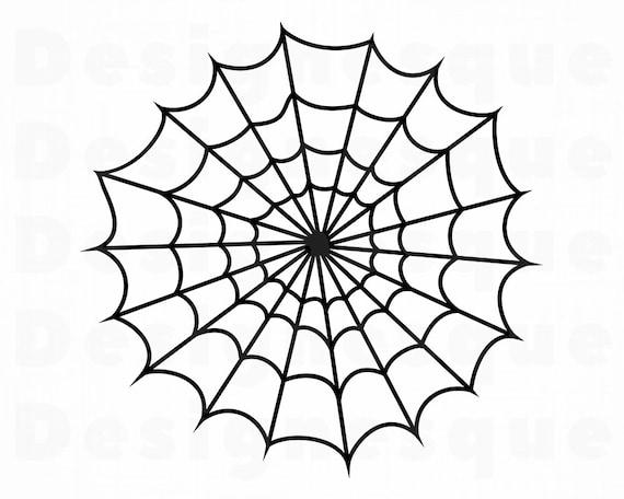 Spider Web 3 Svg Spider Web Svg Spider Web Clipart Spider Etsy