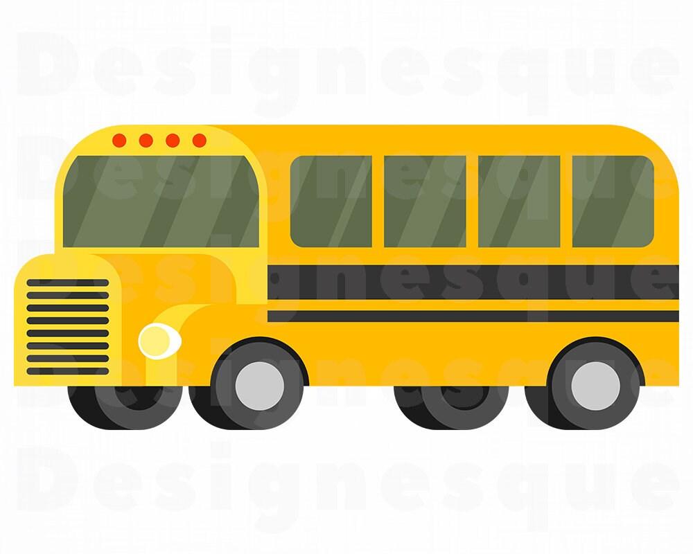 school bus svg school bus clipart school bus files for   etsy