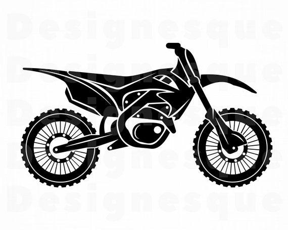 motocross-bike-clipart-1.jpg (1200×1200) | Motorcycle decals, Motocross  bikes, Bike silhouette