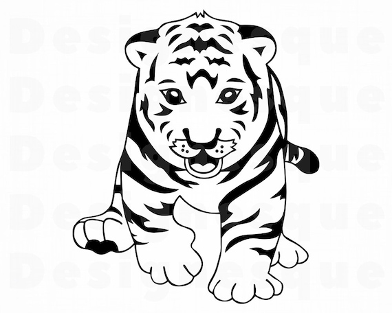 Best Baby Tiger Clipart - Tiger Cubs Clip Art Transparent PNG - 1127x1122 -  Free Download on NicePNG